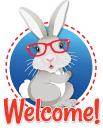 Hop Bunny Welcome