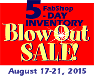 May BlowOut Sale!