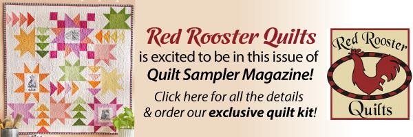 Red Rooster Fabircs Quilt Sampler Exclusive Quilt Kit
