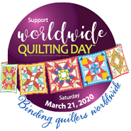 Worldwide Quilting Day Saturday, March 21, 2020
