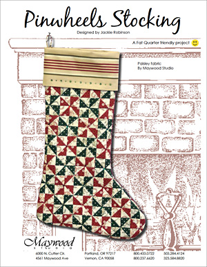 Pinwheels Stocking