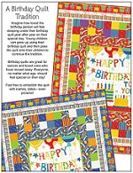 A Birthday Quilt Tradition