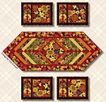 Autumn Time Placemats & Table Runner