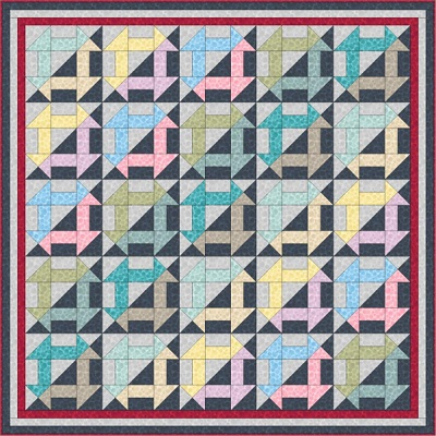 Bumbleberries Quilt 1