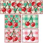 Cherry Up Table Runner & Placemats