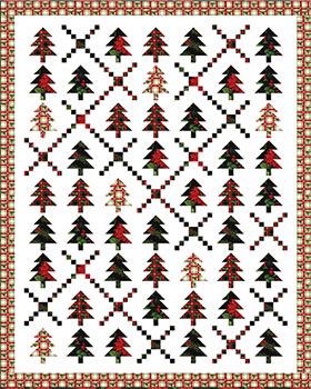 Download Holiday Forest Quilt by Michael Miller Fabrics