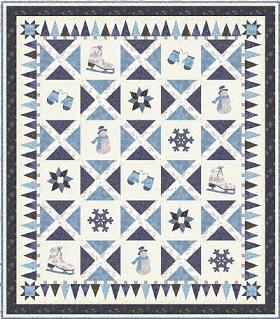 Download Holiday Retreat by: Moda Fabrics