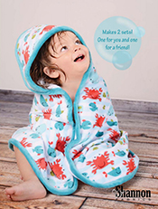 Cuddle Hooded Towel and The Little Cuddle®