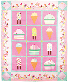 Download Ice Cream, You Scream by Michael Miller Fabrics