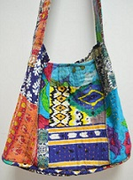 Kantha Hobo Bag