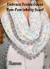 Pom-Pom Infinity Scarf