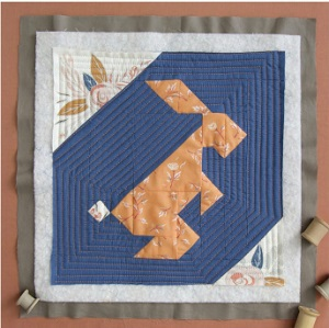 Rabbit Quilt Block