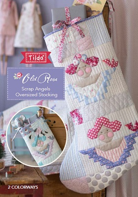 Download Scrap Angels Oversized Stocking by: Tilda Fabrics