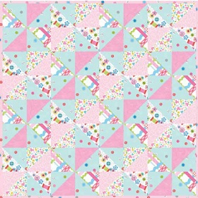 Download Sew Kind Doll Quilt by: Studioe Fabrics