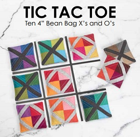 Download Tic Tac Toe Bean Bags by: Lewis and Irene