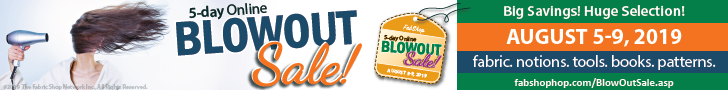 BlowOut Sale - August 5-9, 2019