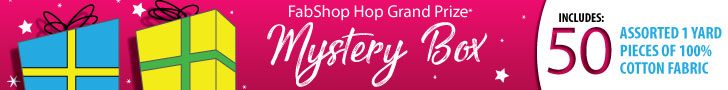 Grand Prize Sponsor - Mystery Box - 50 yds assorted 1 yard pieces